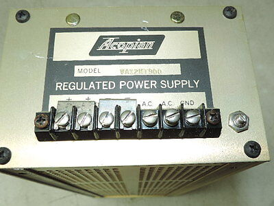 Acopian VA12MT900 Regulated Power Supply 12 Volt 9 Amps - tested