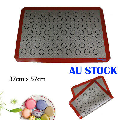Non-stick Macaroon Macaron Baking Mat Fondant Pastry Silpat Dough Pad Oven Liner