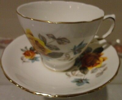 Royal Vale Bone China England Cup And Saucer