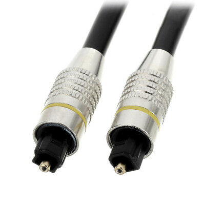 Toshiba Digital Optical Audio Toslink Male to Toslink Male Audio Cable 1m Gold