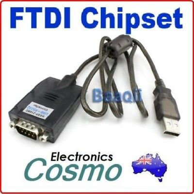Brand New Hot USB to RS232 FTDI FT232RL FT232BL Serial DB9 Converter Adapter