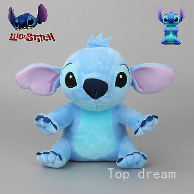 New Lilo Stitch Plush Toy Soft Stuffed Doll Cuddly Teddy 11'' Collectible Gift