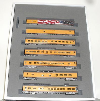 New Kato  N Gauge 106-086 Union Pacific Excursion 7 Car Coach Set