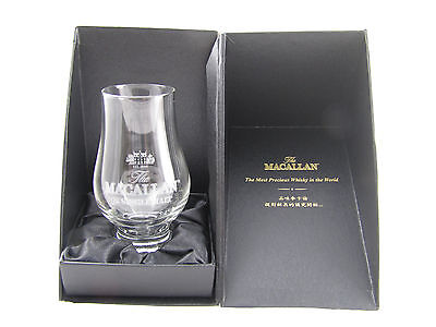 The MACALLAN Scotch Malt Whisky Pair Nosing Glasses NEW with boxes
