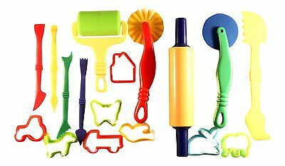 8 Dough Cutters 5 Dough Tools with 4 Modelling Tools