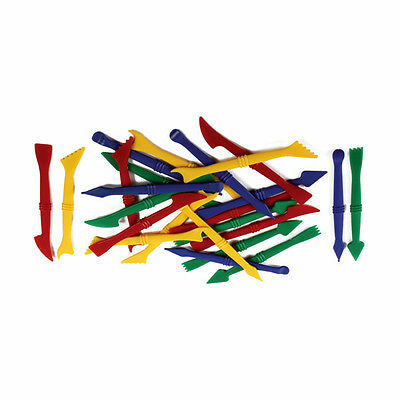 Creation Station Plastic Modelling Tools in 4 Designs, Pack of 24 CT6376