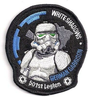 "Star Wars 4"" White Shadows 501st Legion Promo Patch- FREE S&H (SWPA-KL-10)"