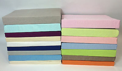 Thermal Flannelette Brushed Cotton Fitted Bed Sheet Single Double King New