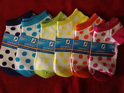 FootJoy Women's ComfortSof Non-Cushion Low Cut Golf Socks - Choose Color