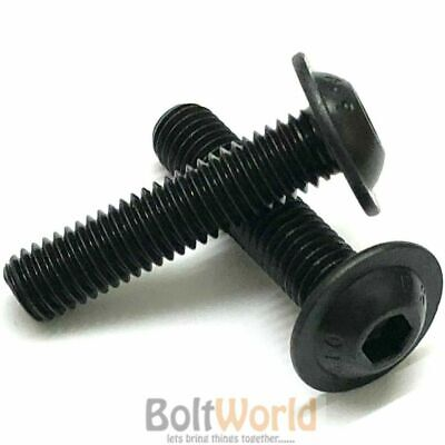 M3 M4 M5 M6 M8 M10 High Tensile Flanged Button Head Allen Bolts Socket Screws Bw