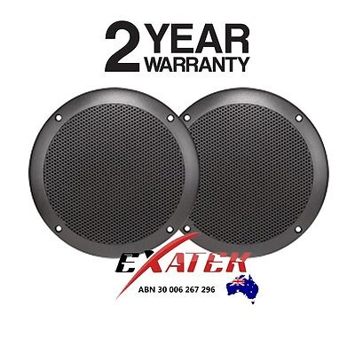 AXIS MA500B BLACK Marine Speakers 60W Ultra Slim Flush mount 130mm
