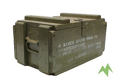 Ex Army Authentic Australian Military Apers 4 Mines Mine Ammo Box Ex Issue Four