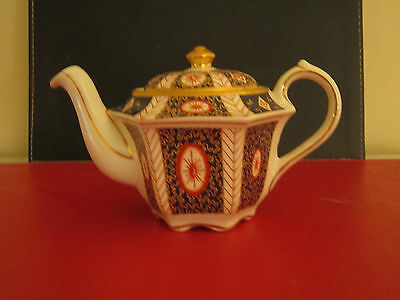 Vintage Collectible Sadler Heirloom Series Mandarin 1 Cup Teapot Made In England