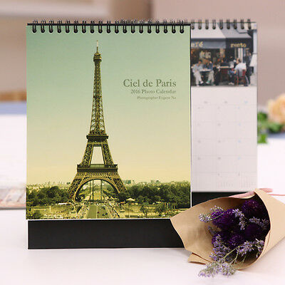 [7321 Design] 2016 Desk Scheduler Fairy Tale / Girlish Illust./ Paris (5 Types)