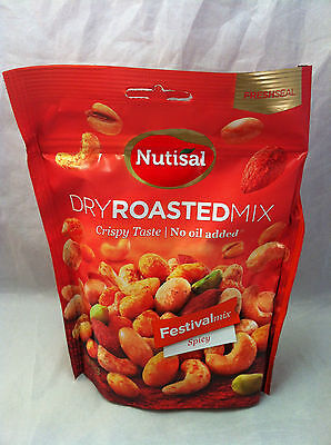 Nutisal Dry Roasted Mix Festivalmix Spicy 175g (100g/2,85€) Party
