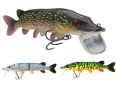 Westin Mike the Pike Hybrid 17cm 43g Hard head with soft body lure COLOURS