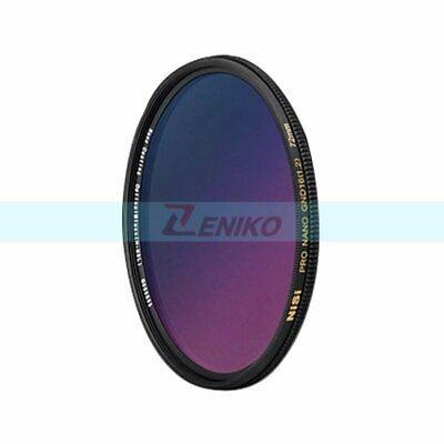 77mm NiSi Ultra-slim Pro Nano GC Graduated GRAY GND16 4-stop Camera Lens Filter