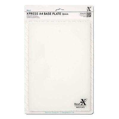 Xcut Base Plate A4 Papercraft Die Cut Embossing Craft Decoration White