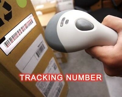 ADD Tracking Number (Registered Mail)  to your order  !