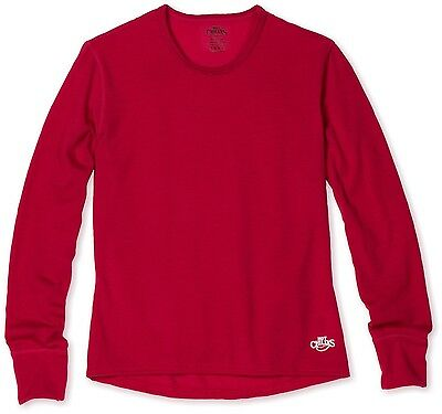 Hot Chillys Youth/Kid Mid Weight Banded Crew - Razzle - MEDIUM - NWT - Brand New
