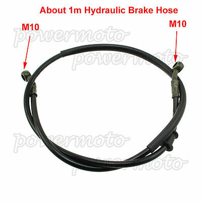 Hydraulic Brake Line Cable Hose 1m For Motorcycle Motorbike Pit Dirt Bike ATV