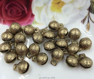 20PCS 17mm NEW Selling  BELL Collected By China's Tibetan Brass BELL