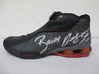 Baron Davis Signed Los Angeles Clippers Game Issued Nike Shox Basketball Shoe