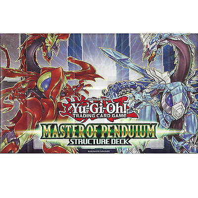 Yu-Gi-Oh: Paper Playmat /game Mat From The Master Of Pendulum Structure Deck