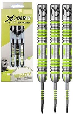 Michael van Gerwen Mighty Generation 90% Tungsten Steel Tip Darts by XQMax