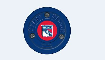 NEW OFF ICE TRAINING GREEN BISCUIT New York Rangers PUCK