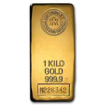 1 kilo Gold Bar - Royal Canadian Mint RCM - SKU #43292