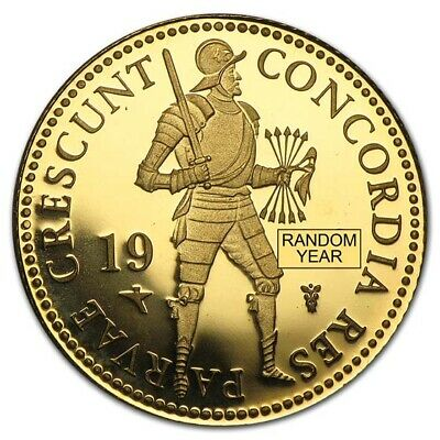 Netherlands 1 Ducat Gold Coin - Random Year - Proof or Uncirculated - SKU #49838