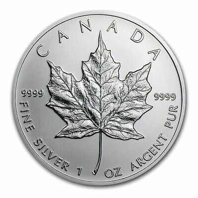 2001 Canada 1 oz Silver Maple Leaf BU - SKU #11066