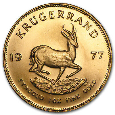 1977 South Africa 1 oz Gold Krugerrand - SKU #87904