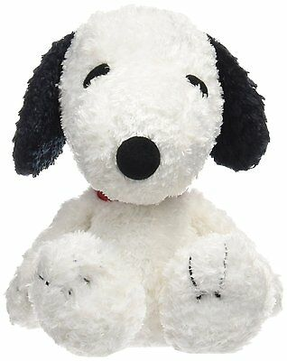 PEANUTS Snoopy Plush Stuffed toy 7.8 inch. sitting version Japan NEW