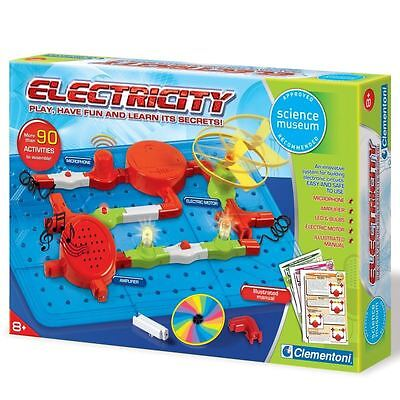 Clementoni Science And Play Electricity Kit 8+ Educational Toy Childrens Gift