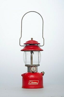 Very Nice Vintage 1971 Coleman Model 200A Red Lantern Single Mantle Untested