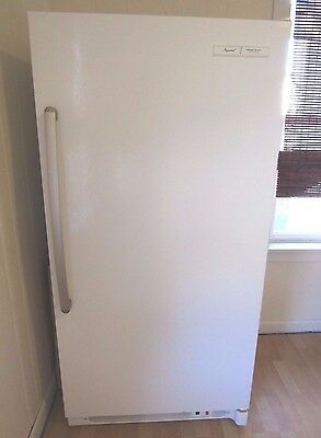 Commercial Heavy Duty Upright Freezer 21 Cu White Stand Up