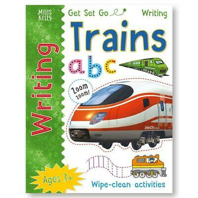 Learn to Write Trains NEW EDITION (wipe clean book) Pen included!!!!