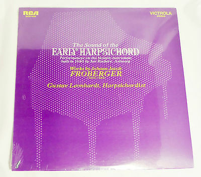 Gustav Leonhardt: Sound of the Early Harpsichord [Still-Seaed Copy]