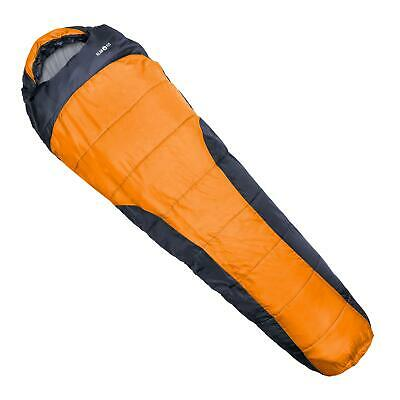 Klarfit: Schlafsack 230X80X55Cm Mumienschlafsack Orange Xxl Mountain Equipment