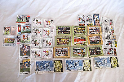 Job Lot of Mexico 1970 Football Stamps