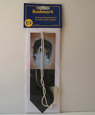 Dog Bookmark * BERNESE MOUNTAIN DOG * by UK artist * 2 images to choose from *