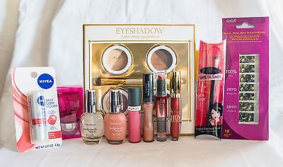 27 piece assortment of hair, makeup, beauty products