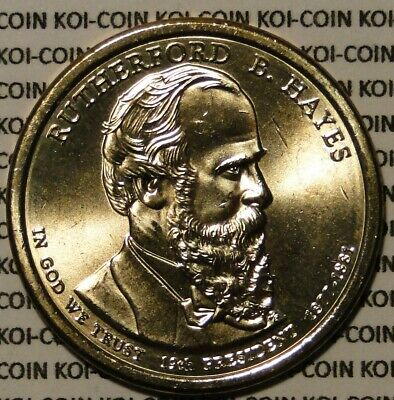 BU UNC 2011 United States US Presidents Rutherford B. Hayes dollar$1 coins P/D