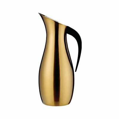 NEW Nuance Penguin Water Pitcher 1.7L Brass (RRP $210)