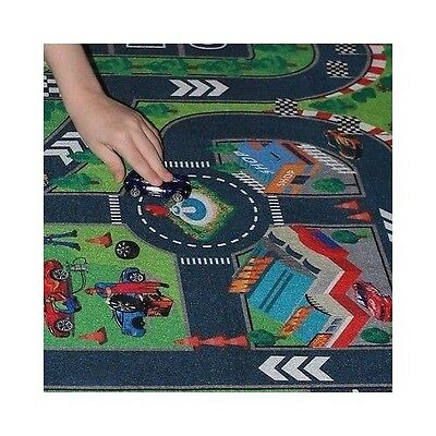 Hotwheels Mat Imaginary Road Map Matchbox Race Track Playset Toddler Kids Car
