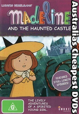 Madeline And The Haunted Castle DVD NEW, FREE POSTAGE WITHIN AUSTRALIA REGION 4