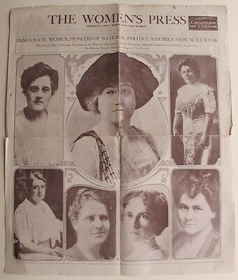 Women's Suffrage Chicago President Wilson Pleads Equal Voice for Women