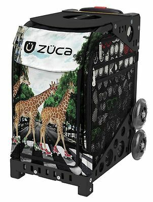 """All New! Zuca """"Giraffes"""" Limited Edition Insert and Black Frame"""